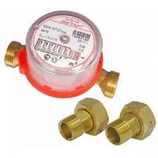 Счетчик для горячей и холодной воды Бетар СГВ-15 + монтажный комплект